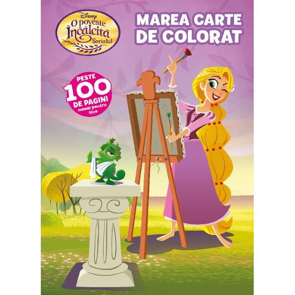 Disney O poveste incalcita Marea carte de colorat