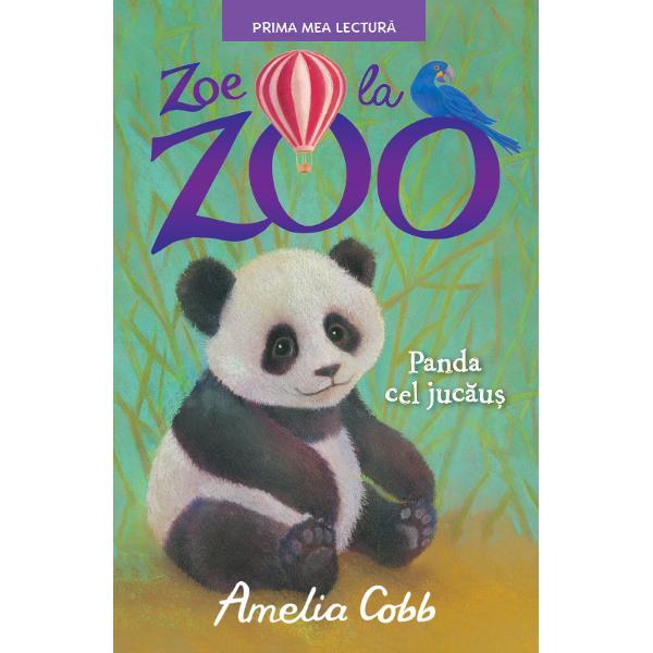 Lui Zoe &238;i place foarte mult s&259; locuiasc&259; &238;n gr&259;dina zoologic&259; a unchiului s&259;u pentru c&259; acolo se petrec &238;ntotdeauna lucruri interesante Iar ea&8230; poate VORBI cu animaleleZoe ador&259; noii pui de panda dr&259;g&259;la&537;i de la gr&259;dina zoologic&259; Sunt dou&259; feti&539;e gemene Cum le poate deosebi Cu u&537;urin&539;&259; pentru c&259; una din ele e TARE neast&226;mp&259;rat&259;