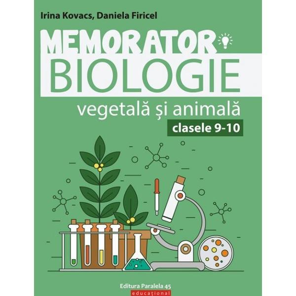 Conceput&259; &238;n format de buzunar lucrarea se adreseaz&259; at&226;t elevilor din primele clase de liceu dar &537;i celor care se preg&259;tesc pentru sus&539;inerea probei Ed a examenului de bacalaureat la disciplina Biologie vegetal&259; &537;i animal&259;Este un suport teoretic bine sistematizat necesar &238;n preg&259;tirea orelor de biologie dar &537;i unul informa&539;ional de baz&259; pentru preg&259;tirea evaluarilor curente &537;i a examenului de