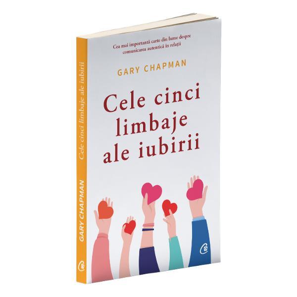 C&259;sniciile nefericite se datoreaz&259; adesea unui motiv simplu vorbim limbaje diferite de iubire &206;n experien&355;a sa de peste 30 de ani &238;n calitate de consilier matrimonial dr Gary Chapman a identificat cinci limbaje de iubire cuvintele de &238;ncurajare timpul petrecut al&259;turi de cel drag cadourile serviciile &351;i contactul fizic Cartea le abordeaz&259; pe fiecare &238;n parte &238;ntr-un stil accesibil &537;i plin de umorCum pute&355;i