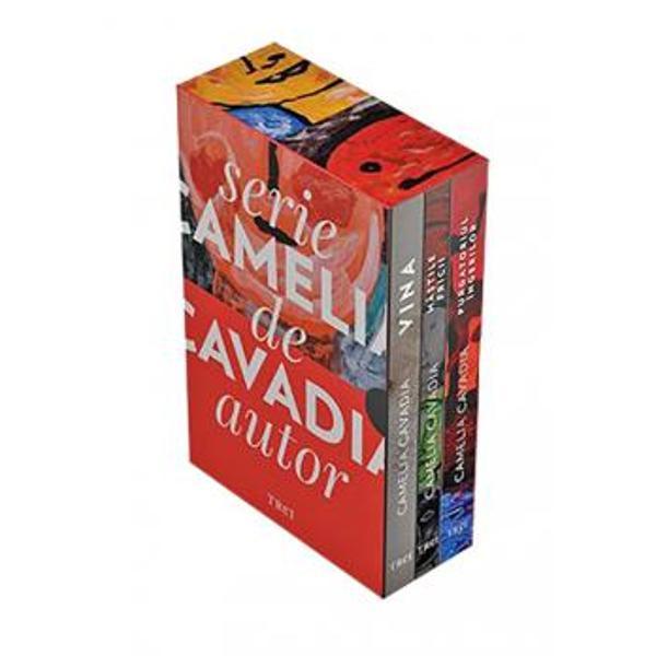 """""""Vina este un roman despre povara fericirii chiar a&351;a &351;i chinul permanent al demonicului de a surpa – prin patologia patimii oarbe – iubirea curat&259; armonia conjugal&259; farmecul divin al copil&259;riei &351;i nobila condi&355;ie de p&259;rinte"""" - Dan C Mih&259;ilescuM&259;&537;tile fricii este o carte despre modul în care traumele din copil&259;rie ajung s&259; ne domine &537;i s&259; sufoce maturitatea O poveste"""