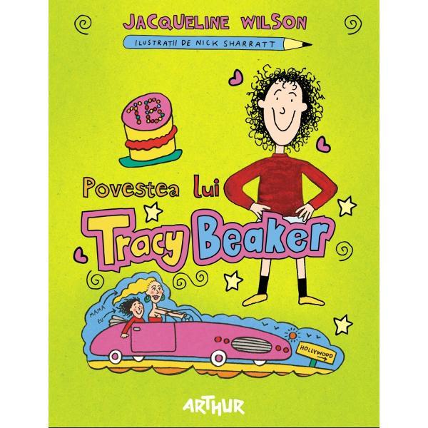 Tracy are zece ani Traieste intr-un orfelinat dar isi doreste ca intr-o zi sa aiba o casa a ei si o familie adevarata Isi noteaza in jurnal toate grijile dorintele si nemultumirile toate simpatiile si aversiunile Insa ceilalti copii din orfelinat nu trebuie sa stie nimic din toate astea In plus este sigura ca mama ei celebra va veni sa o ia de acoloCartea scrisa la persoana intai este o poveste pe cat de amuzanta pe atat de emotionanta despre o fetita nabadaioasa si adorabila