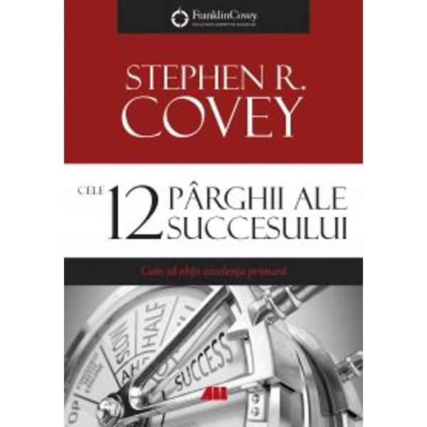 Expert în leadership &537;i în business Stephen R Covey explic&259; în volumul de fa&539;&259; felul în care oamenii pot face importanta trecere de la obsesia excelen&539;ei secundare faim&259; avere popularitate imagine public&259; la concentrarea asupra excelen&539;ei primare caracter integritate d&259;ruire de sine El aduce în discu&539;ie &537;i define&537;te dou&259;sprezece principii care constituie un mecanism de cel mai