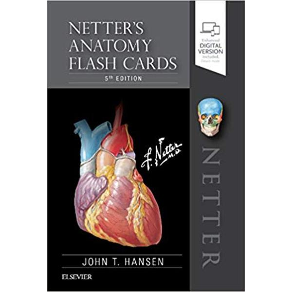 Learn the essential anatomy you need to know – quickly and easily Each flash card in this full-color deck features high-quality Netter art and several new paintings by Dr Carlos Machado numbered labels with hidden answers and concise comments and clinical notes for the most commonly tested anatomy terms and concepts Focusing on clinically relevant anatomy this easy-to-use portable study tool helps you learn anatomical structures with