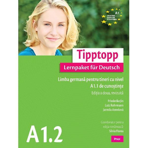 Tipptopp  Lernpaket für Deutsch A11 – C1reprezinta o serie de pachete complete de invatare a limbii germane ce se orienteaza cu multa consecventa dupa cerintele Cadrului Comun European de Referinta CCERPachetele Tipptopp A11 – C1 asigura dobandirea cunostintelor de