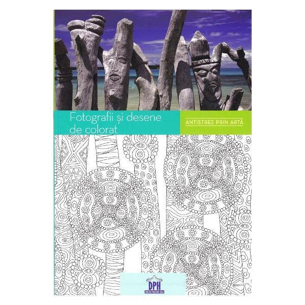Bucura&539;i-v&259; de un moment de relaxare &537;i l&259;sa&539;i-v&259; purta&539;i de cele mai fascinante fotografii prin toate col&539;urile lumii De la sariuri indiene la mozaicuri andaluze de la &539;es&259;turi africane str&259;lucitoare la totemuri din Oceania inspira&539;i-v&259; din culturile lumii ca s&259; colora&539;i modelele din carte Prin cele 60 de fotografii pe care s&259; le admira&539;i &537;i cele 60 de plan&537;e de colorat ve&539;i