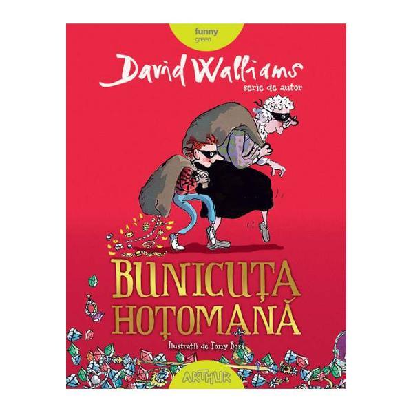 Bunicuta Hotomana este o carte amuzanta pentru copii scrisa de David Walliams si ilustrata de Tony Ross Aparuta la editura Arthur cartea este recomandata copiilor cu varste cuprinse intre 7 si 10 ani si face parte din colectia funny green Cartea il are protagonist pe Ben un baiat de 11 ani ce este suparat deoarece in fiecare seara de vineri parintii il lasa la bunica lui O descrie pe bunica ca fiind o persoana plictisitoare si care miroase mereu a varza mancarurile ei continand
