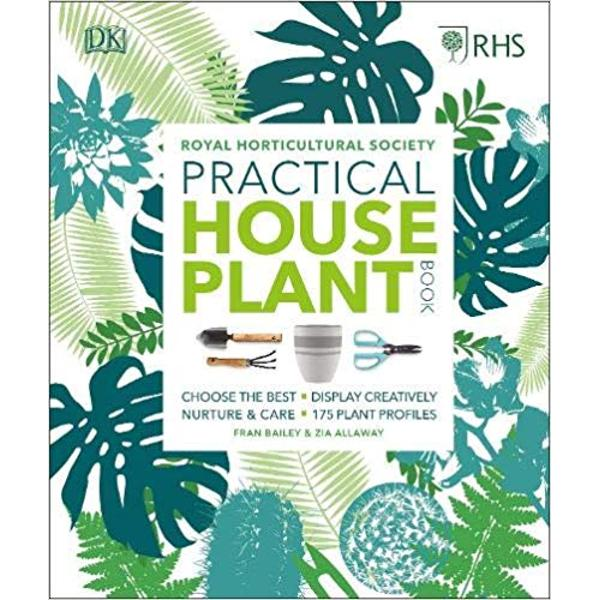 Its official living with houseplants is good for your wellbeing Turn your living space into an indoor oasis with our handy easy to follow guide Discover key indoor gardening design principles and learn how to care for your houseplants and keep them healthy The RHS Practical Houseplant Book contains a dozen stunning step-by-step projects to help you assemble an eye-catching terrarium create a floating kokedama string garden or propagate succulents for