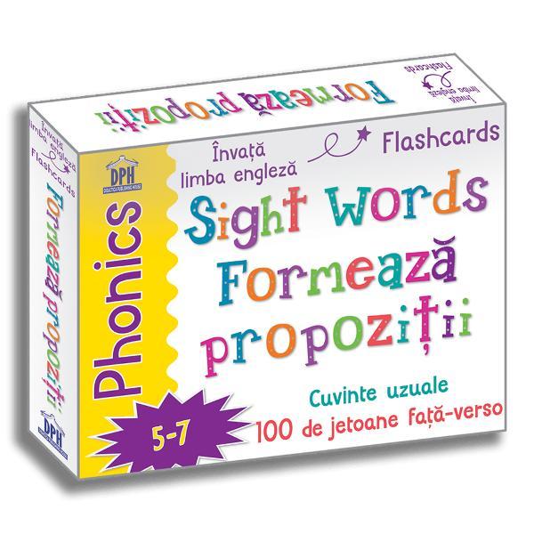 Înva&539;&259; limba englez&259; - Flashcards Încuraja&539;i-l pe copil s&259; înceap&259; s&259; formeze propozi&539;ii folosind cuvinte uzuale înv&259;&539;ate repede Folosind aceste jetoane u&537;or de citit copiii vor înv&259;&539;a s&259; citeasc&259; &537;i s&259; pronun&539;e f&259;r&259; efort cuvinte uzuale lucru care îi va ajuta s&259; devin&259; cititori - Pronun&539;&259;
