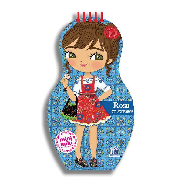 """""""Bun&259; M&259; numesc Rosa &537;i locuiesc în Portugalia Noi vorbim limba portughez&259; &537;i la Bun&259; ziua spunem Bom Dia"""" Rosa v&259; prezint&259; pe scurt cele mai reprezentative aspecte ale culturii Portugaliei iar copiii vor înv&259;&539;a - cum este &537;coala în Portugalia - care este alimenta&539;ia portughez&259; - despre pasiunea pentru artizanat - despre arta decor&259;rii"""