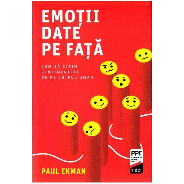 Vreti sa aflati prin ce difera un zambet fericit de un suras fortat  Doriti sa stiti ce sentimente ascunde copilul partenerul sau seful dumneavoastra  Dupa decenii de cercetari ale emotiilor si expresiilor faciale Paul Ekman si a sintetizat rezultatele in aceasta carte care combina excelent informatiile stiintifice cu sugestiile practice Psihologul american explica originea si modurile de manifestare ale principalelor emotii umane  furie dezgust tristete bucurie frica surpriza  si ofera