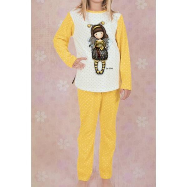 Varsta 8 aniPijama copii Gorjuss Bee Loved lungio pijama adorabila si plina de culoare pentru vremea rece Alege cele mai frumoase modele de pijamale din gama Gorjuss cu faimoasa Bee Loved pentru micuta taAcesta pijama Gorjuss Bee Loved este speciala pentru o zi relaxanta de acasa sau pentru o noapte confortabila Realizata din cele mai bune materiale din bumbac 100  aceasta pijama este alegerea ideala pentru a fi purtata ziua in