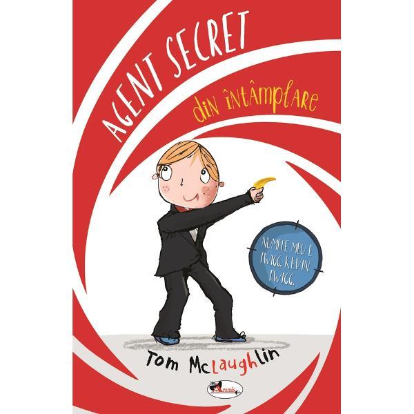 CONFIDENTIALKEVIN era genul de pustan care incerca sa alunece pe un fir de sarma de-a lungul unei cladiri si care sfarsea prin a cadea cu capul inainte intr-o fantana cu fundul la vedere asa ca va puteti imagina ce s-a intamplat cand i s-a permis sa aiba acces la incredibilele gadgeturi de spion pe care le-ar fi folosit James BondCu toate astea Kevin a avut sansa sa ne salveze de un criminal diabolic A fost cea mai periculoasa mai indrazneata misiune