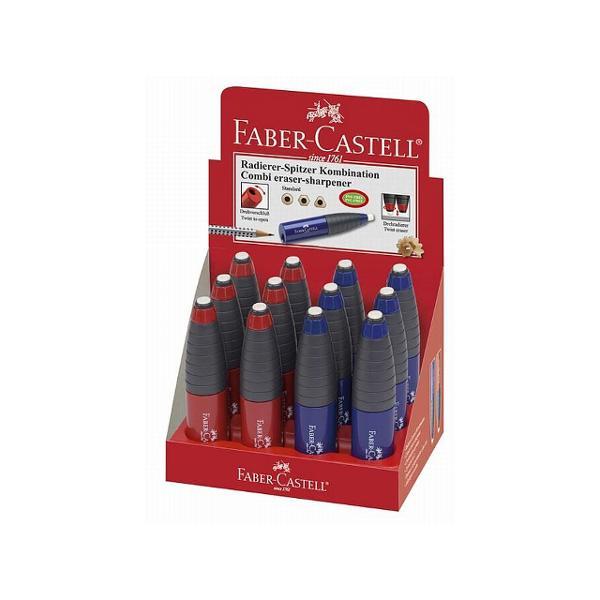 Ascutitoare de o calitate deosebita cu radiera inclusa si zona grip ergonomica• surub de siguranta• pentru creioane triunghiulare clasice creioane grafit si colorate