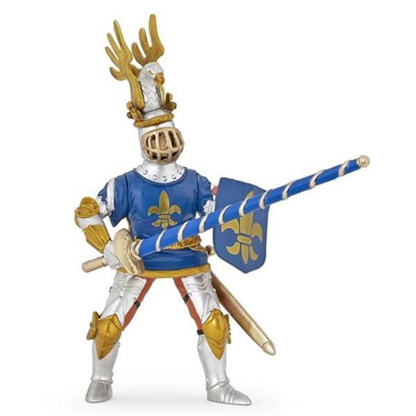 Optezi pentru acest Cavaler pregatit de lupta Figurina Cavaler Crin albastru are un corespondent fara de care nu se poate deplasa Un cavaler are intotdeauna nevoie de calul sau Completeaza setul adaugand la colectia ta alaturi de Cavalerul Crin albastru calul sau cod articol P39787Dimensiuni 5 x 11 x 2 cm