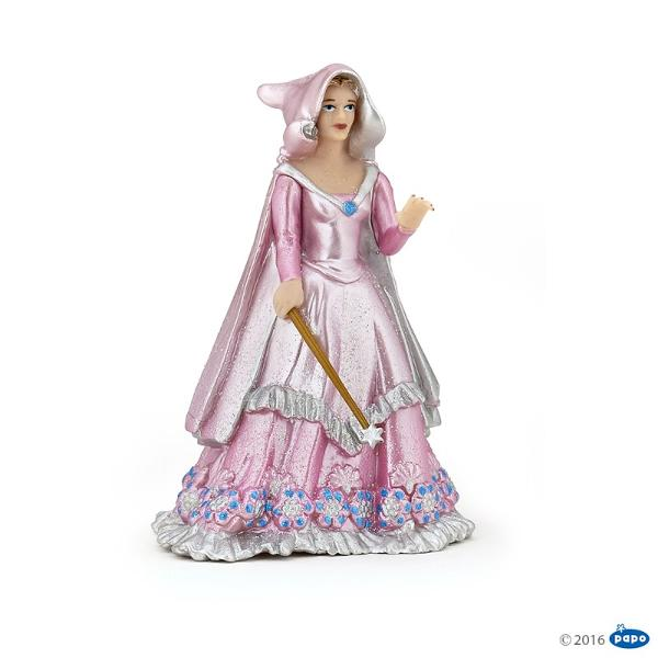 Vrajitoare roz - Figurina PapoVrajitoare roz - Figurina Papo este o jucarie realizata manual excelent pictata si poate fi colectionata de catre copii sau adaugata la seturile de joaca cum ar fi personaje de basm si legendaetcDimensiune 65x55x9 cm