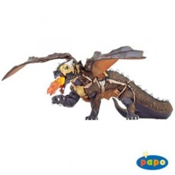 Figurina Papo - Dragonul intunericuluiJucarie educationala realizata manual excelent pictata si poate fi colectionata de catre copii sau adaugata la seturile de joaca cum ar fi dragoni mutanti etcUn excelent stimulent pentru a extinde imaginatia copiilor dezvoltand multe oportunitati de joacap stylecolor