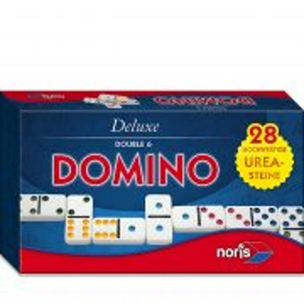 -Joc distractiv si interesant Domino-Un joc care este intotdeauna la moda-Intr-o cutie de depozitare generoasa cu inchidere magnetica-Dimensiuni119 x 19 x 5 cm-Greutate0898 kg-Varsta recomandata6 ani NORIS 606108002AvertismentContraindicat copiilor mai mici de 3 ani
