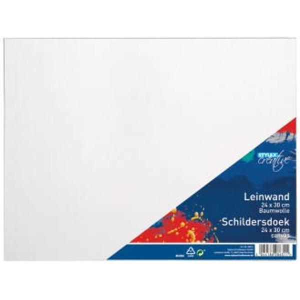 Panza pentru pictura 24x30 cmFabricata din bumbac 100 pe rama de lemnProdus de TOPPOINT-Germania
