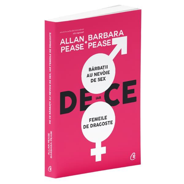 Allan &351;i Barbara analizeaz&259; cu maxim&259; sinceritate &351;i cu o doz&259; considerabil&259; de umor g&226;ndirea b&259;rba&539;ilor &351;i a femeilor fa&539;&259; de sex &351;i dragoste explic&226;nd diferen&539;a de viziune dintre cele dou&259; tabere Baz&226;ndu-se pe cercet&259;ri despre creier pe nout&259;&539;i din psihologie &351;i pe statistici relevante so&539;ii Pease transpun descoperirile &351;tiin&355;ifice de ultim&259; or&259; &238;ntr-un