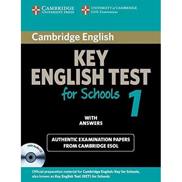 These past examination papers for the KET for Schools exam from Cambridge ESOL aimed at a younger audience provide the most authentic exam preparation available They allow candidates to familiarise themselves with the content and format of the examination and to practise useful examination techniques