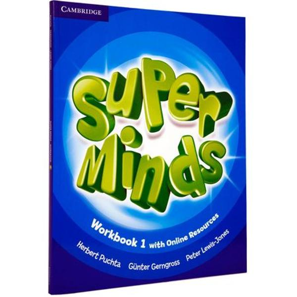 Super Minds is a seven-level course for young learners Super Minds from a highly experienced author team enhances your students thinking skills improving their memory along with their language skills This Level 1 Students Book includes visualisation exercises to develop creativity cross-curricular thinking with fascinating English for school sections and lively stories that explore social values The fabulous DVD-ROM features animated