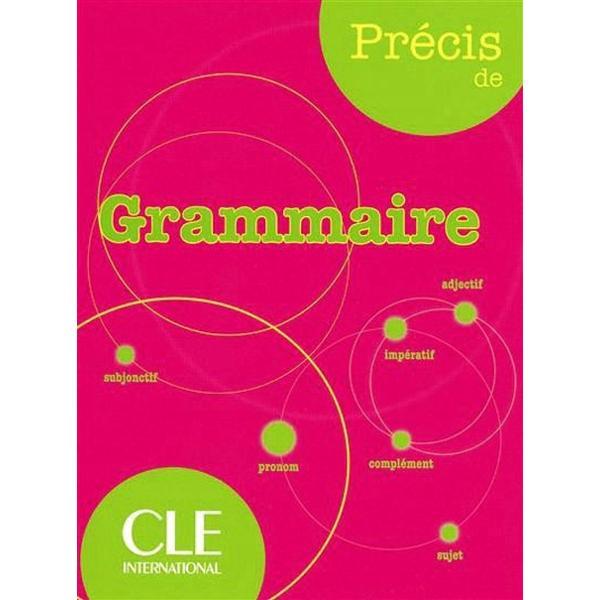 Enfin une réponse claire à tous les problèmes grammaticaux que peuvent rencontrer les apprenants de français langue étrangère à travers le mondeLe Précis de grammaire est tout particulièrement destiné aux étudiants étrangers quel que soit leur niveau de français