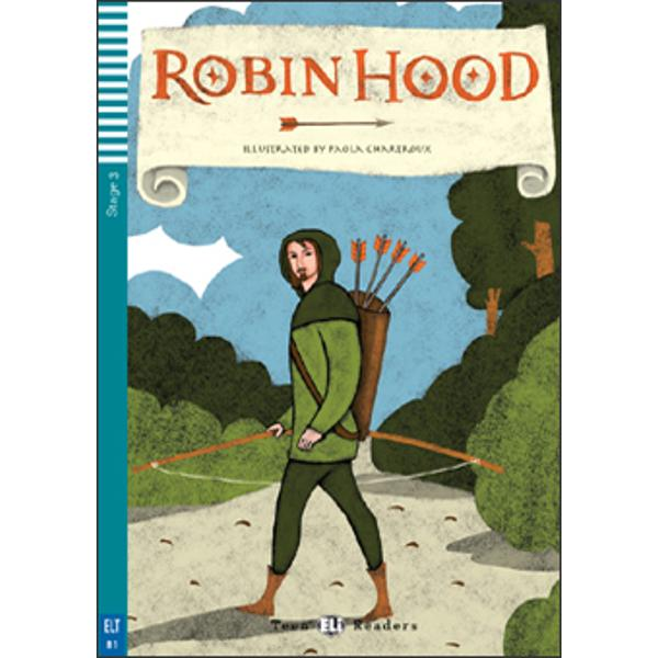 The daring and handsome nobleman Robin Hood is forced to live as an outlaw in Sherwood Forest after the evil Sheriff of Nottingham kills his family and takes his land and money With the help of his Merry Men Robin becomes a hero stealing from the rich to give to the poor  Will the wicked Sheriff of Nottingham manage to capture Robin and his friends Will Robin regain his land and be able to offer Marian his love a real home Read about this