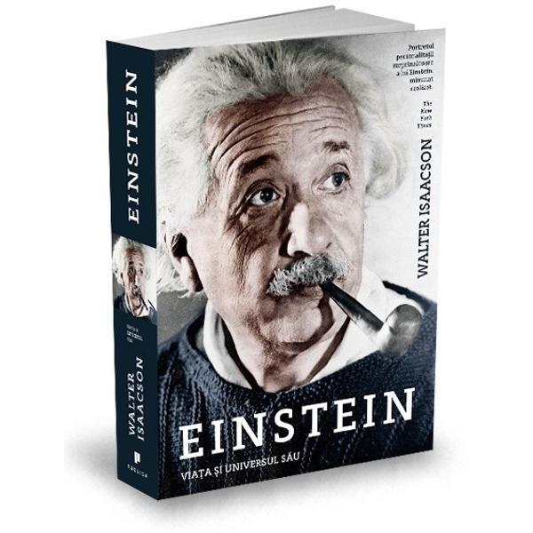 Scris&259; de autorul bestsellerului Leonardo da Vinci aceasta este prima biografie complet&259; a lui Albert Einstein de când au devenit accesibile toate documentele sale Cum a func&539;ionat mintea sa Ce a f&259;cut ca el s&259; fie un geniu Biografia lui Isaacson ne arat&259; modul în care imagina&539;ia lui &537;tiin&539;ific&259; a izvorât din natura rebel&259; a personalit&259;&539;ii sale Fascinanta sa
