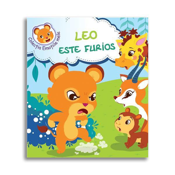 Leo puiul de leu nu se treze&537;te bine odihnit în ziua în care trebuia sa termine de construit noua colib&259; împreun&259; cu prietenii s&259;i maimu&539;ica girafa &537;i gazela Puiul de leuî&537;i anun&539;&259; prietenii c&259; va termina singur de construit u&537;a colibei ace&537;tia neputând decât s&259; îl priveasc&259; dezam&259;gi&539;i Leu&539;ul nu reu&537;e&537;te nicidecum s&259; lege u&537;a fiind