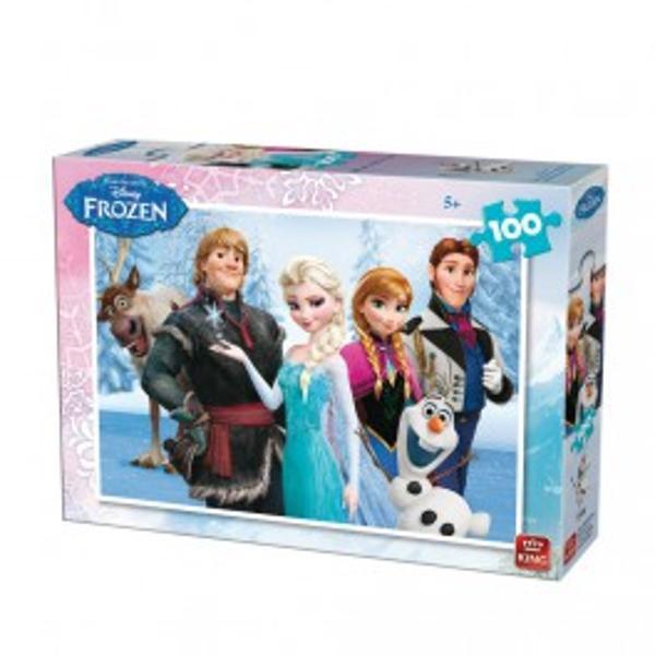 Puzzle Disney Frozen100 piesePuzzle cu 100 pieseavand ca tematica filmul Disney -FrozenPiesele componente sunt protejate de o cutie din carton tare Piesele sunt rezistente la imbinare fabricate cu cea mai recenta tehnologiep