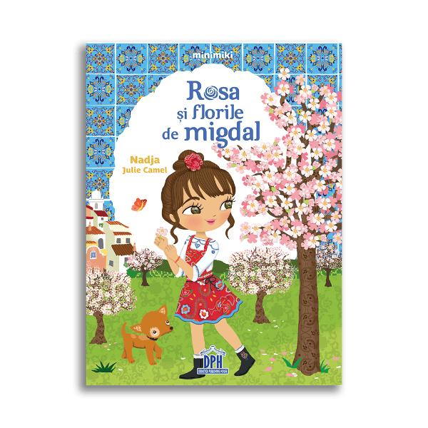 Rosa tr&259;ie&537;te în Portugalia într-o cas&259; înconjurat&259; de o livad&259; de migdali Dar în acest an copacii nu înfloresc &537;i toat&259; lumea se teme pentru recolt&259; Îns&259; o plac&259; de azulejos pe care o descoper&259; în satul p&259;r&259;sit î&537;i dezv&259;luie puteri neb&259;nuite  Specifica&539;ii Vârst&259; 5 ani Pagini 32