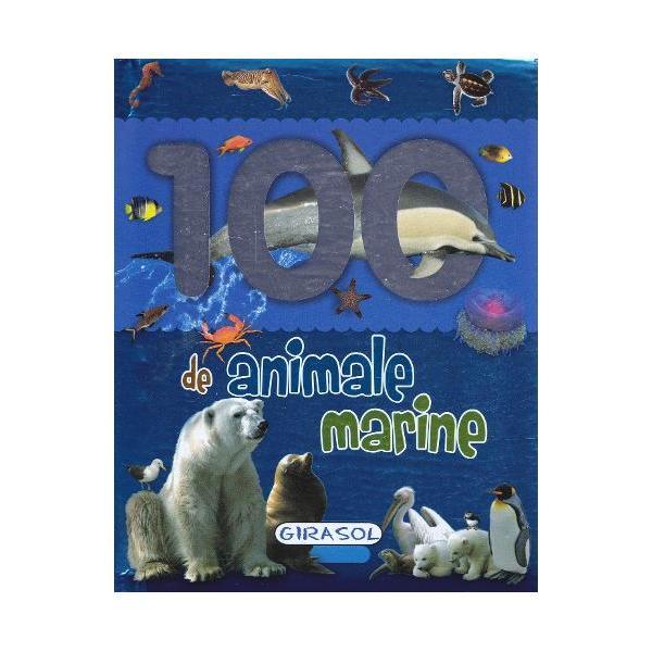 Aceasta carte ii ajuta pe cei mici sa descopere animale marine prin intermediul unor imagini Cartea are paginile groase si cartonate