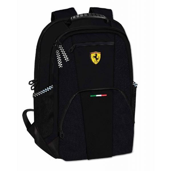Rucsac doua compartimente Ferrari negru 40 cm&160;