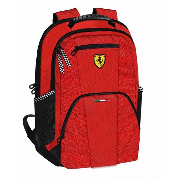 Rucsac doua compartimente Ferrari rosu 40 cm&160;rucsac marca Ferraridoua compartimente si un buzunar atasatinchidere cu fermoarculoare Rosiecadou perfect&160;