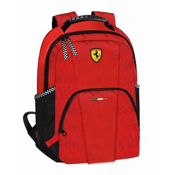Rucsac Ferrari casual rosu 40 cmrucsac marca Ferraridoua compartimenteinchidere cu fermoarculoare Rosiecadou perfect&160;