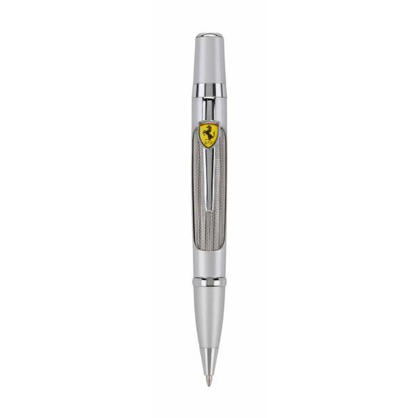 Pix Ferrari Fiorano argintiuPix&160;retractabilCuloare pix&160;argintiuCuloare scriere Negru