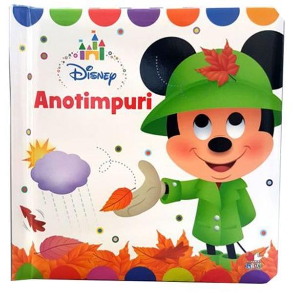 Aceast&259; &238;nc&226;nt&259;toare carte deschide o lume distractiv&259; de &238;nv&259;&539;are a anotimpurilor Cei mici pot &238;nv&259;&539;a despre anotimpuri cu ajutorul personajelor lor preferate Disney Cartonul robust &537;i coperta c&259;ptu&537;it&259; moale fac ca aceast&259; carte s&259; fie perfect&259; pentru m&226;inile celor mici