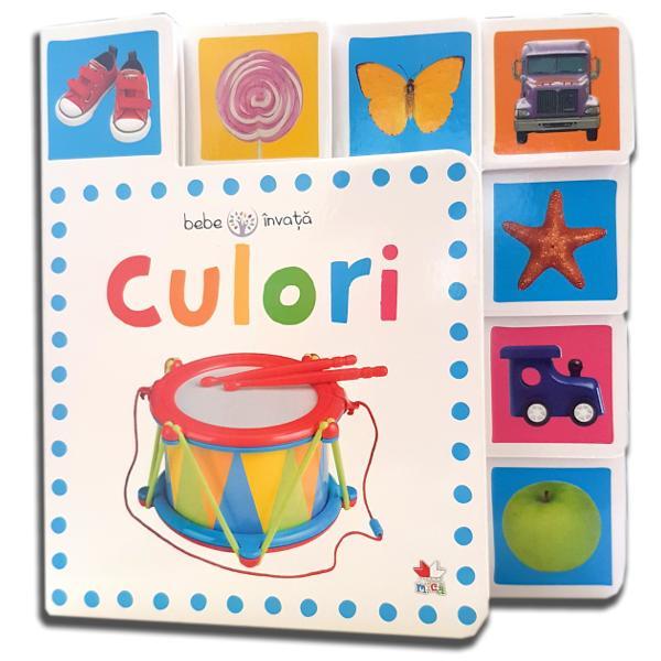 Ghidul p&259;rinteluiAceast&259; carte cu primele cuvinte &537;i imagini viu colorate &238;i va ajuta pe cei mici s&259; &238;nve&539;e culorile
