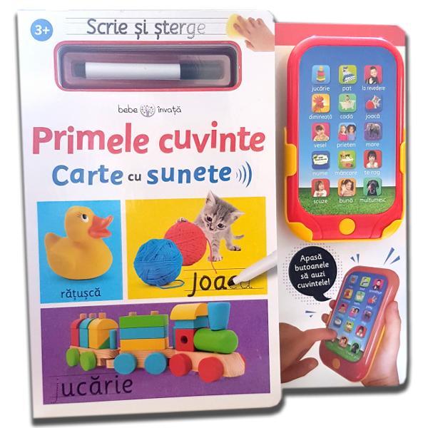 Fiecare activitate &238;l va ajuta pe micu&539;ul t&259;u s&259; recunoasc&259; &537;i s&259; scrie cuvinte simple &537;i expresii uzualeTo&539;i copiii vor fi &238;nc&226;nta&539;i s&259; apese pe butoanele de pe telefonul de juc&259;rie