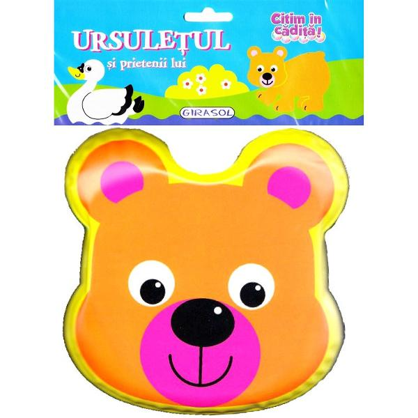 Citim in cadita Ursuletul si prietenii lui este o carticica ideala pentru cei mai mici cititoriPaginile sunt moi si usor de rasfoitBaita va deveni nu doar o activitate distractiva ci si educativa