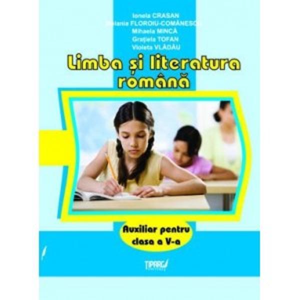 Limba si literatura romana clasa a V a