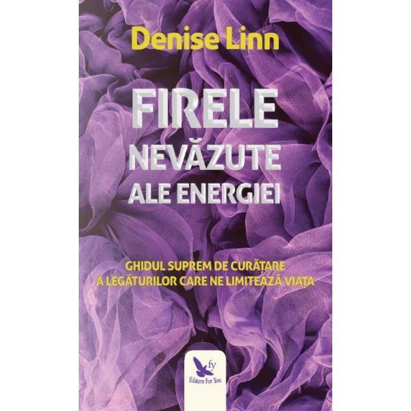 Numeroase traditii samanice ne demonstreaza ca spre noi prin noi si dinspre noi curg cordoane panglici fire si filamente de energie Unele fire energetice ne permit sa ne simtim vibranti si puternici Altele ne epuizeaza si ne slabesc Majoritatea oamenilor nu sunt constienti de legaturile energetice desi ele constituie forte foarte puternice si ne influenteaza in fiecare ziIn Firele nevazute ale energiei Denise Linn ne impartaseste multe
