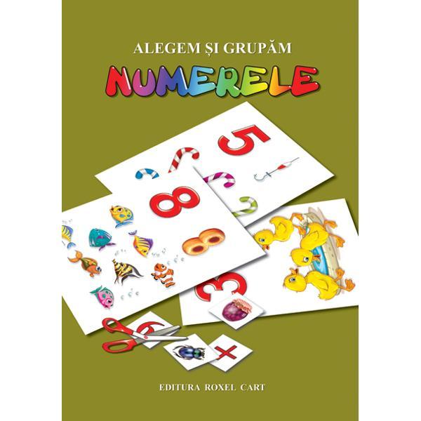 Mapa contine 21 planse format A4 cu cifrele si numerele de la 0 pana la 10  Copilul va invata prin intermediul asocierilor logice a acestora cu obiecte familiare  reprezentate grafic intr-o maniera atractiva   De asemenea  copilul trebuie sa aleaga  sa