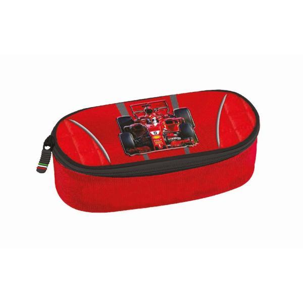Penar oval Ferrari rosu&160;Dimensiune 23 x 11 x 85 cmCuloare Rosu & NegruInchidere FermoarMaterial PoliesterCuloare Rosie