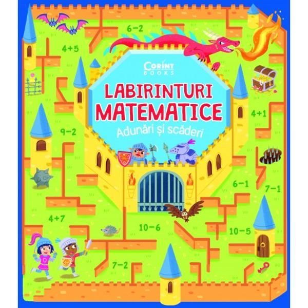O carte plin&259; cu labirinturi colorate &537;i amuzanteUn nou mod simplu &537;i pl&259;cut de a face primii pa&537;i pe drumul provocator al matematiciiExploreaz&259; o piramid&259; misterioas&259; arat&259;-i dragonului calea spre castel scufund&259;-te dup&259; o corabie pierdut&259; în adâncuri – acestea &537;i multe alte aventuri fascinante în timp ce exersezi cu bucurie adunarea &537;i