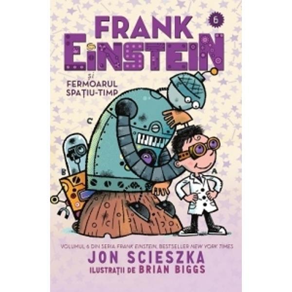 """""""N-a&537; fi crezut niciodat&259; c&259; &537;tiin&539;a poate fi atât de amuzant&259; pân&259; când am citit Frank EinsteinCopiii se vor distra pe cinste"""" —Jeff Kinney autorul bestsellerului Jurnalul unui pu&537;ti""""Hohote de râs &537;i teorii &537;tiin&539;ifice foarte interesante – toate fac din Jon Scieszka o legend&259;"""" — Mac Barnett autorul c&259;r&539;ilor Battle"""