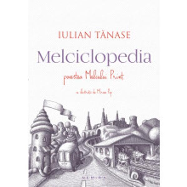 Plina de jocuri de cuvinte si cu numeroase trimiteri culturale Melciclopedia este o aventura a imaginatiei a eruditiei si a spiritului ludicIntr-o dimineata de toamna Melcul
