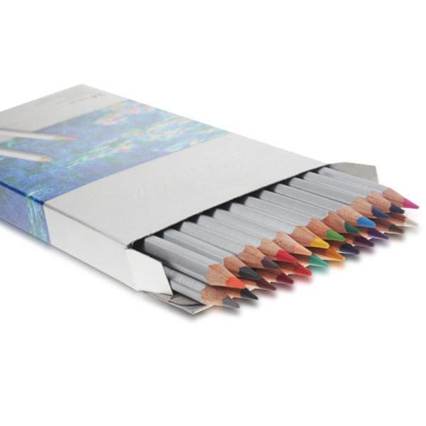 Creioane colorateSet 24 culoriDiametru grif 32mm Nu sunt recomandate copiilorcu virsta sub 3 ani