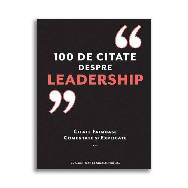 """""""Liderii nu se nasc ci devin"""" - Vince Lombardi 1965 Vince Lombardi a fost unul dintre cei mai mari antrenori de fotbal din istorie dar noi putem înv&259;&539;a despre leadership în orice domeniu de la el &537;i de la al&539;i vizionari care au influen&539;at afacerile politica &537;i cultura O introducere excelent&259; în conceptul de leadership este s&259; studiezi &537;i s&259; în&539;elegi citatele unora dintre cei mai mari"""
